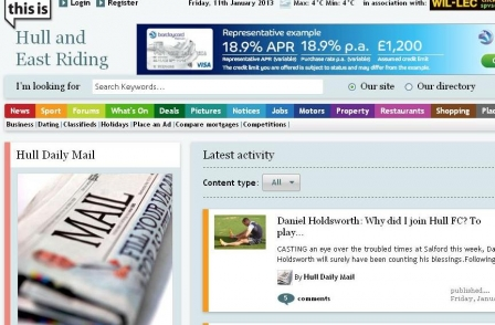Local World overtakes Newsquest and Johnston Press as regional press web traffic surges up