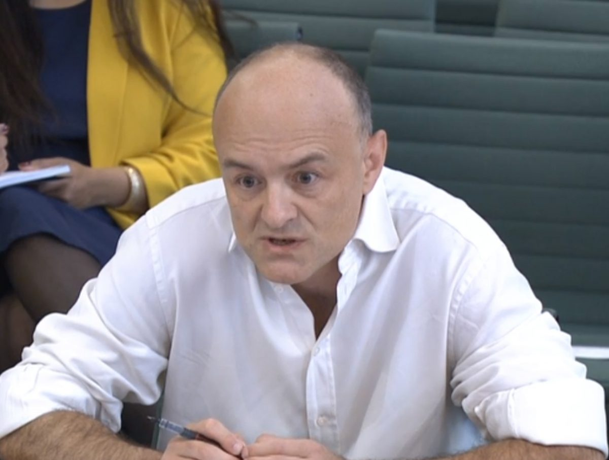 Dominic Cummings: I 'drove the media mad' with decision to stop briefing 'almost all' except BBC's Laura Kuenssberg