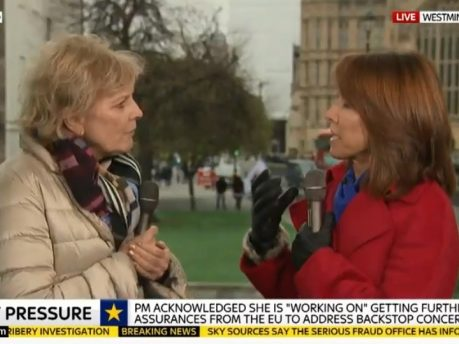BBC and Channel 4 News have 'no plans' to move from College Green as police promise 'robust' action against harassment