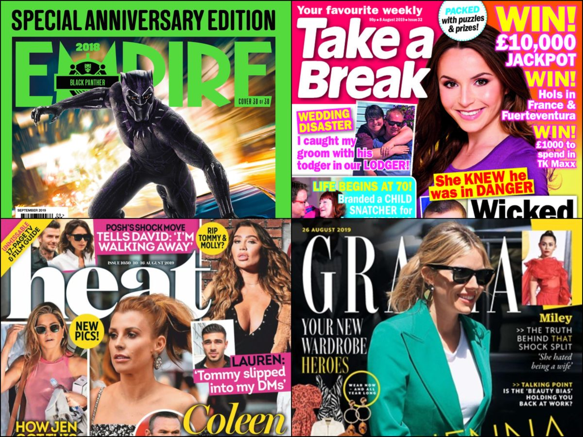 Profits fall at Empire and Grazia magazine publisher Bauer amid print decline