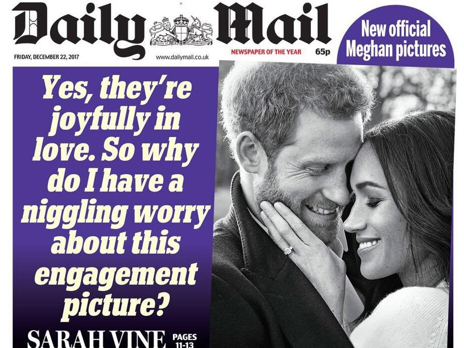 CBS renews attack on UK tabloids but ITV removes five headlines from Meghan montage