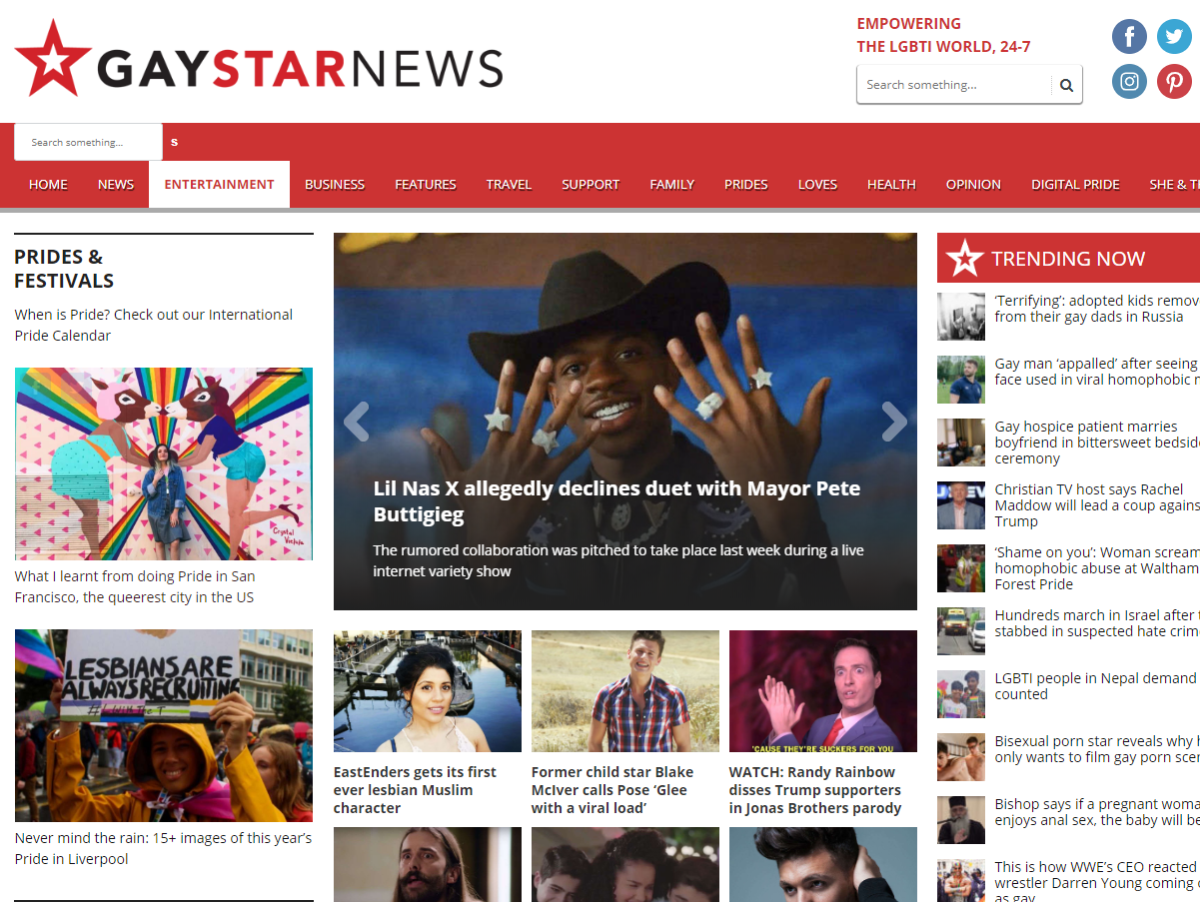 Gay Star News closes suddenly with 20 jobs lost in 'great shame' for LGBTQ media