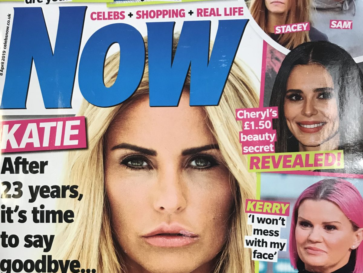 X Factor judge Louis Walsh urges readers to 'keep buying magazines' in final print issue of Now