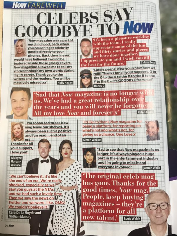 Say Goodbye To Still Photos As Mag >> X Factor S Louis Walsh Says Keep Buying Magazines In Final Now Mag