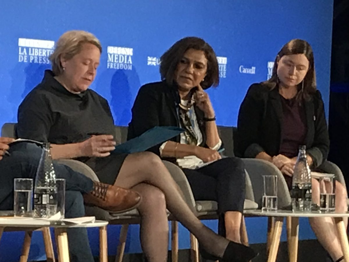 Threats to female journalists 'driving women out of the news industry', conference hears