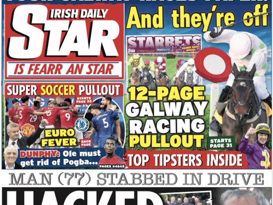 Reach journalists 'angry and hurt' by company's delight over Irish Daily Star takeover
