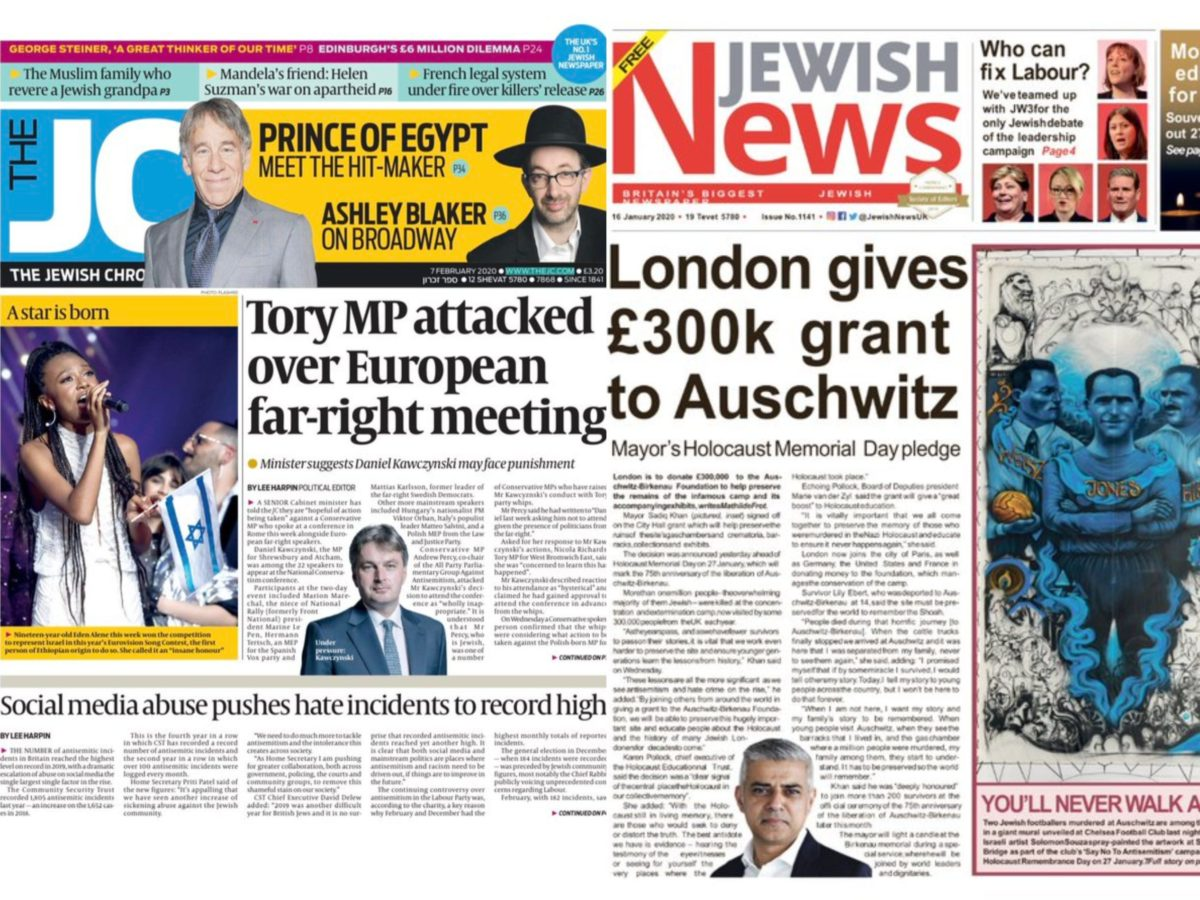 Jewish Chronicle and Jewish News agree to merge news operations to 'secure financial future'