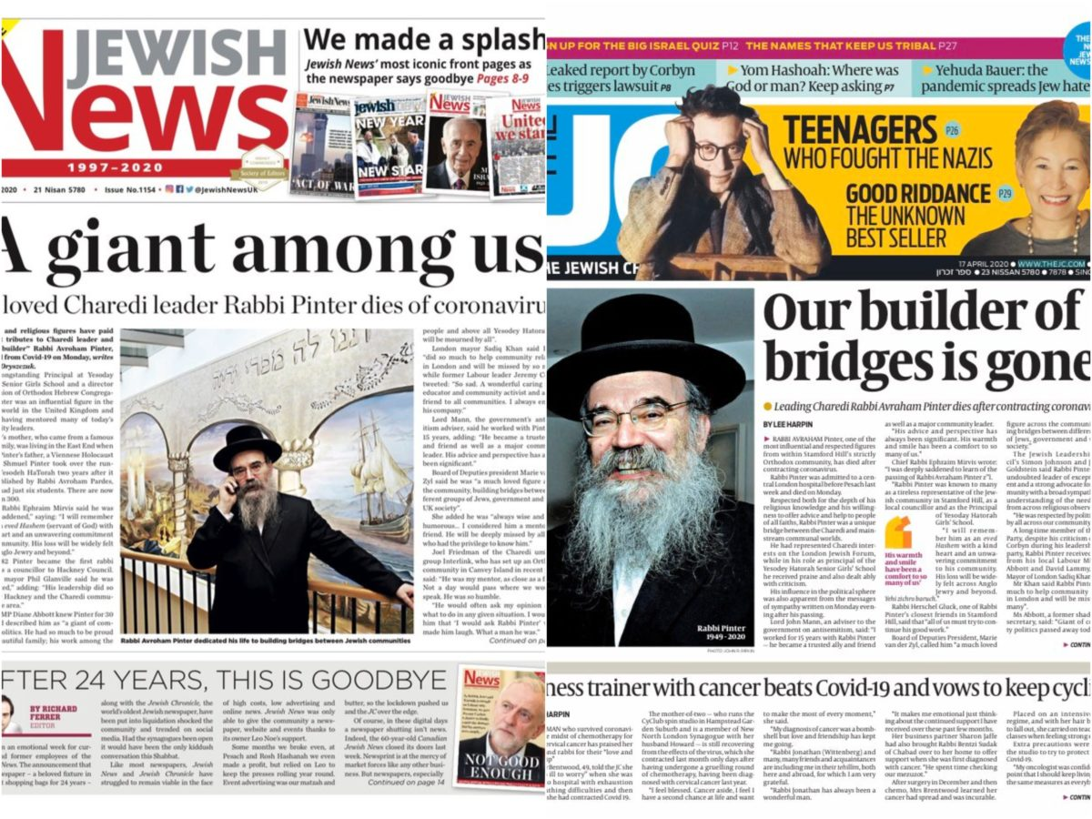 Jewish News back to 'business as usual' as Chronicle merger plan thwarted by surprise bid