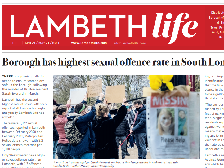 Lobby journalist helps revive Lambeth Life to give London borough dedicated paper again