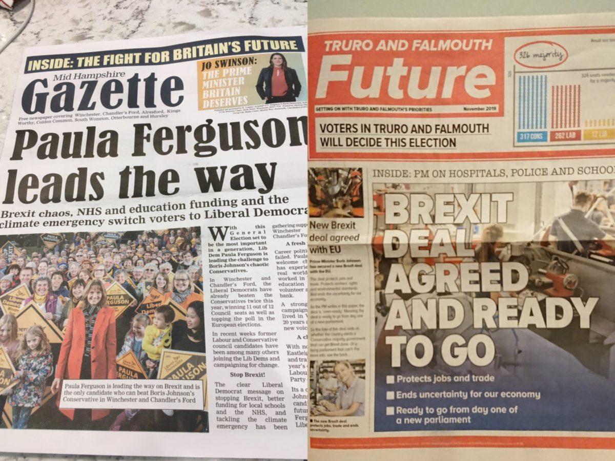 Electoral Commission calls for law change to stop campaign material imitating local newspapers