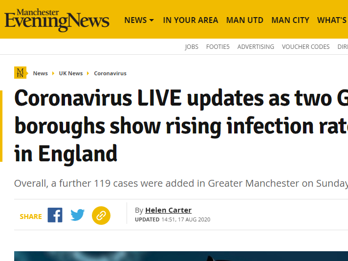 Millions more seek out local news online during pandemic, figures show