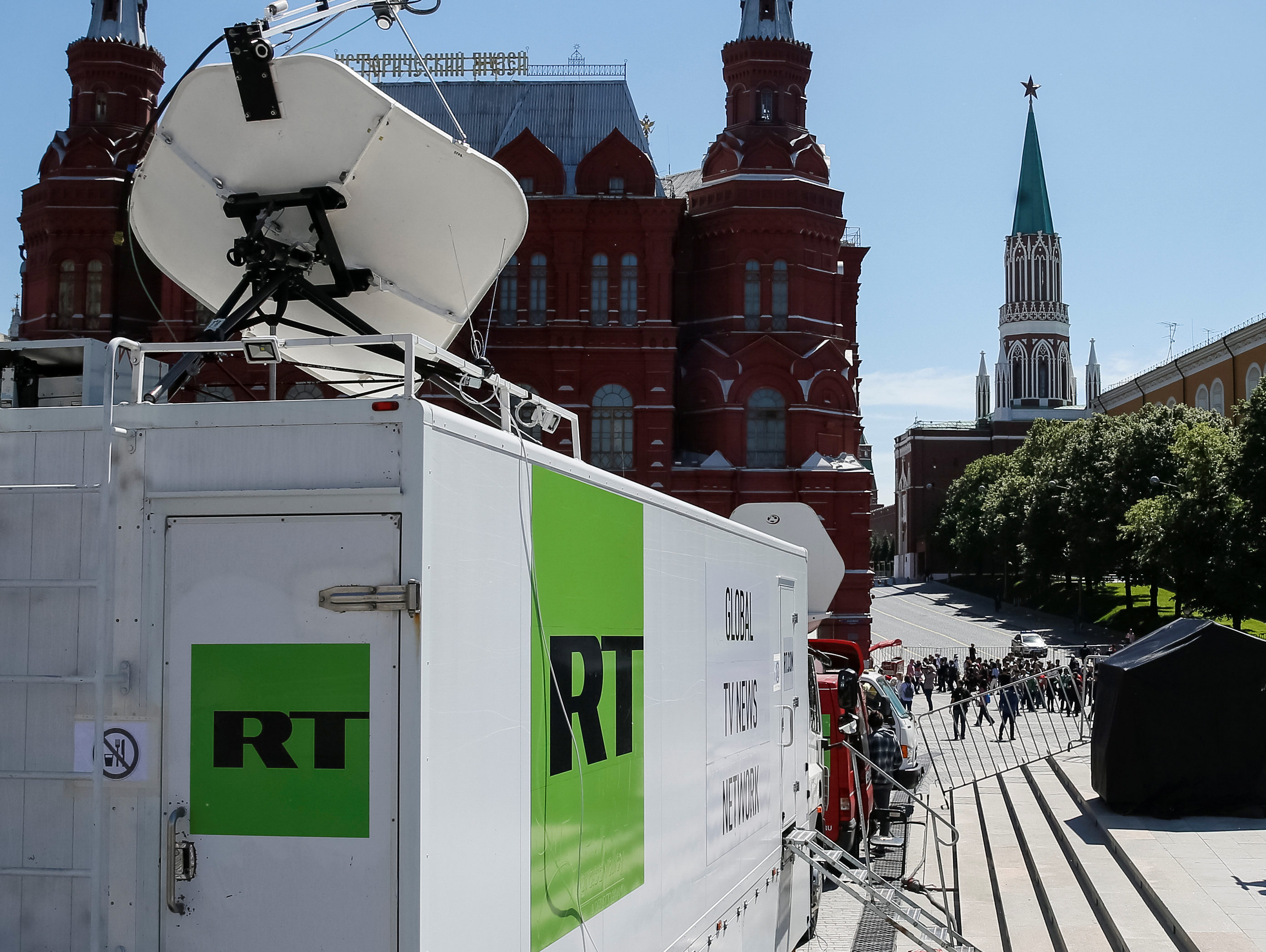RT (Russia Today) fined £200,000 by Ofcom for 'serious
