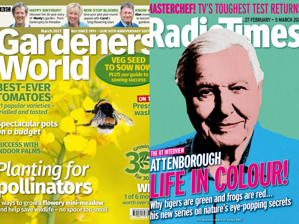 Radio Times and Gardeners' World editors on how pandemic made mags essential again