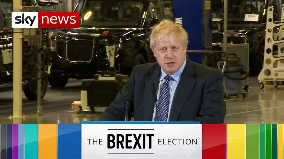 Labour claims Sky News 'Brexit election' slogan breaches impartiality rules