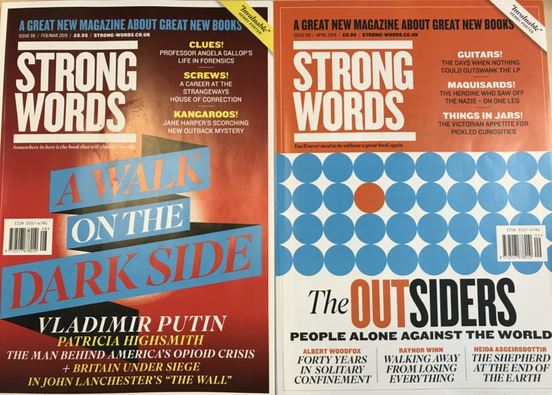 Former FHM editor launches new book magazine Strong Words