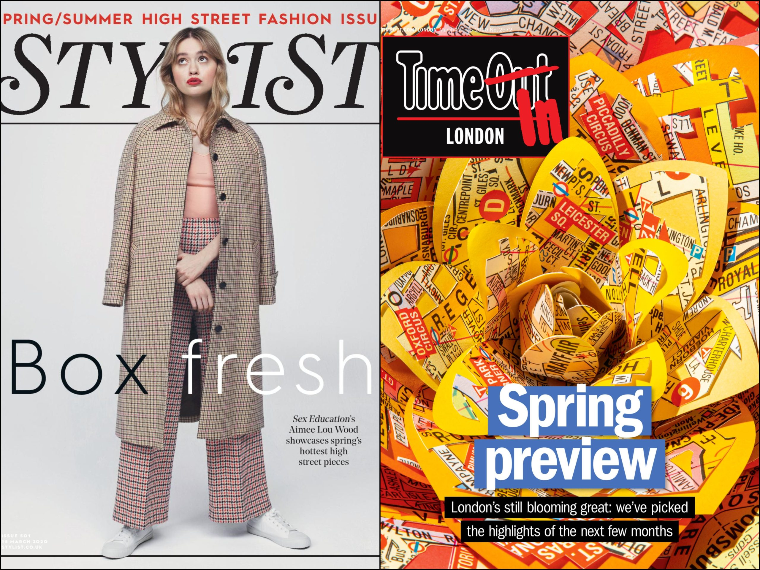 Coronavirus: Time Out and Stylist free magazines go digital-only as readers stay home