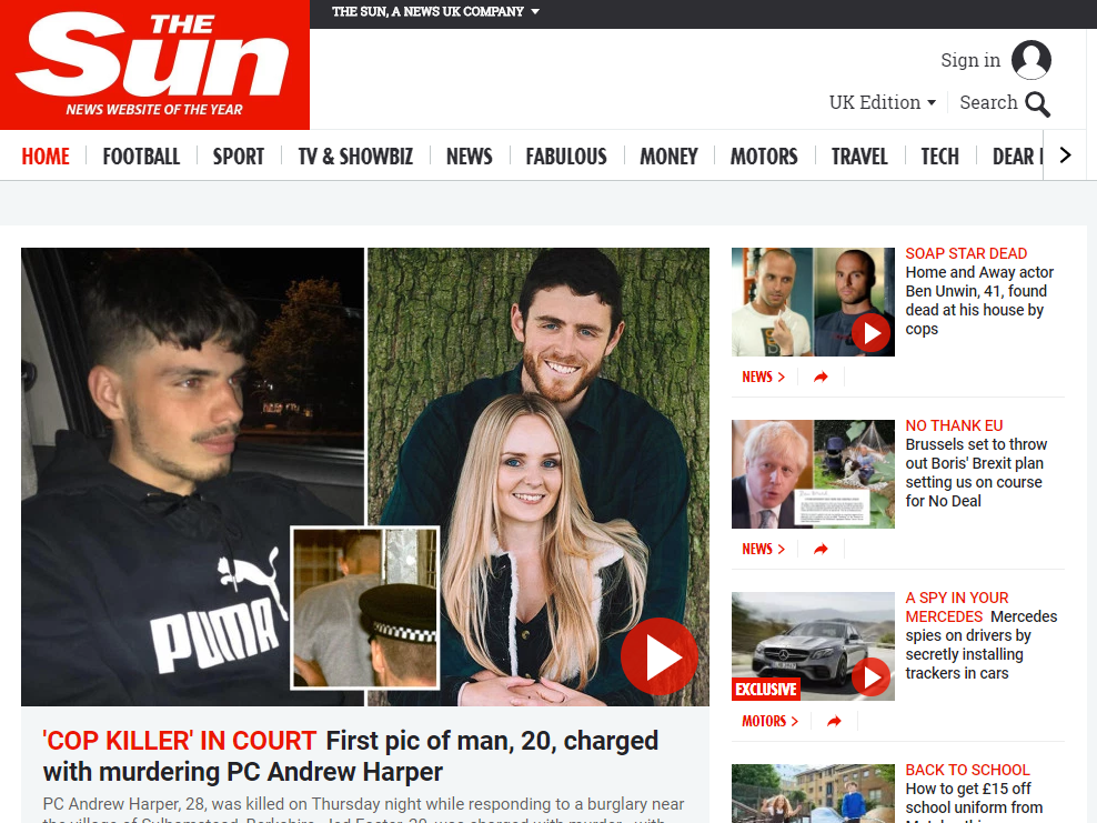 Comscore: Sun online reaches biggest ever UK monthly audience