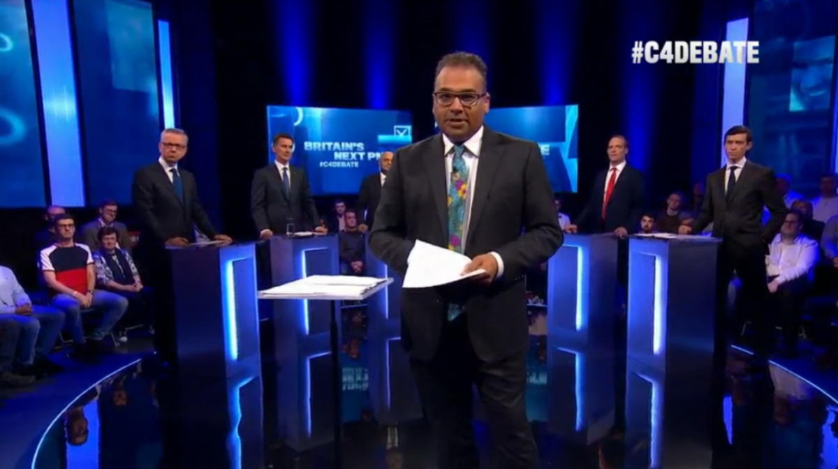 More than a million viewers tune in to Channel 4 Tory leadership debate