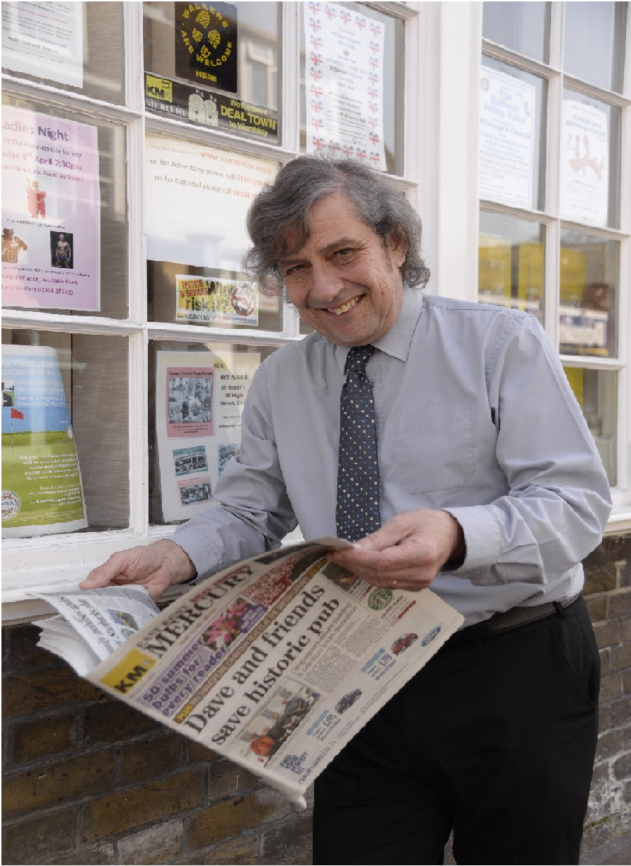 Journalism offers 'more opportunities' now says editor stepping down after 2,000 editions of East Kent Mercury