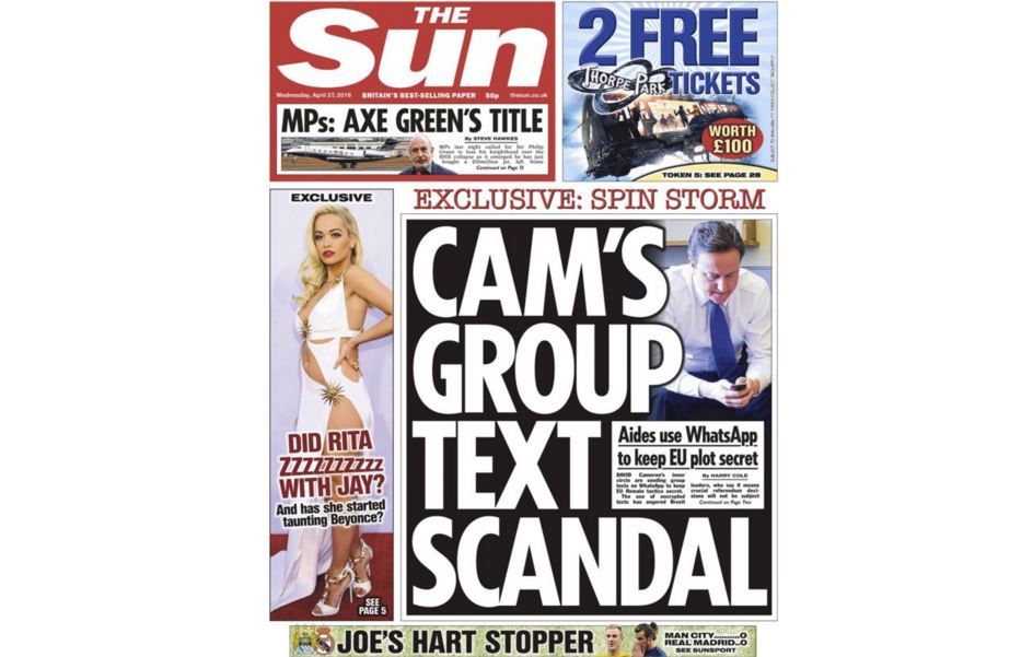 The Sun apologises again over Hillsborough but does not put inquest verdict on front page