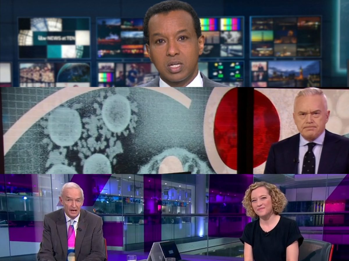 Coronavirus leads to 'staggering demand' for trusted TV news