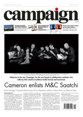 CAMPAIGN front cover