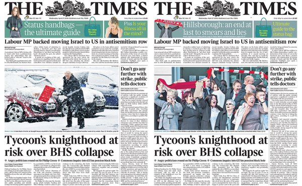 Former Times night editor Liz Gerard on paper's 'monumental error' over Hillsborough inquest coverage