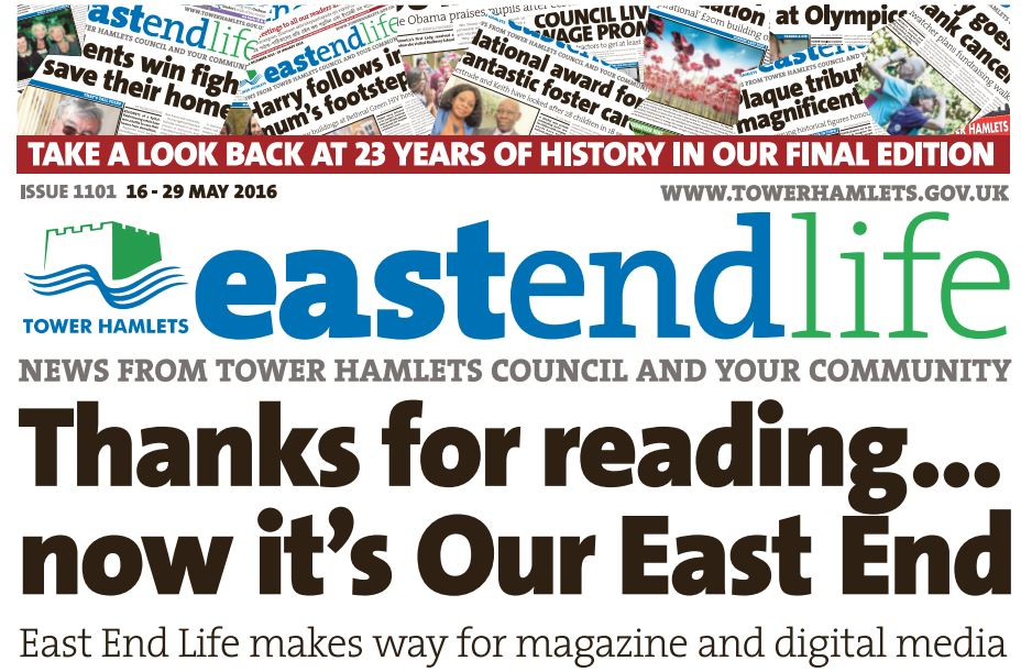 Council closes fortnightly paper after 23 years, falling in line with government guidelines