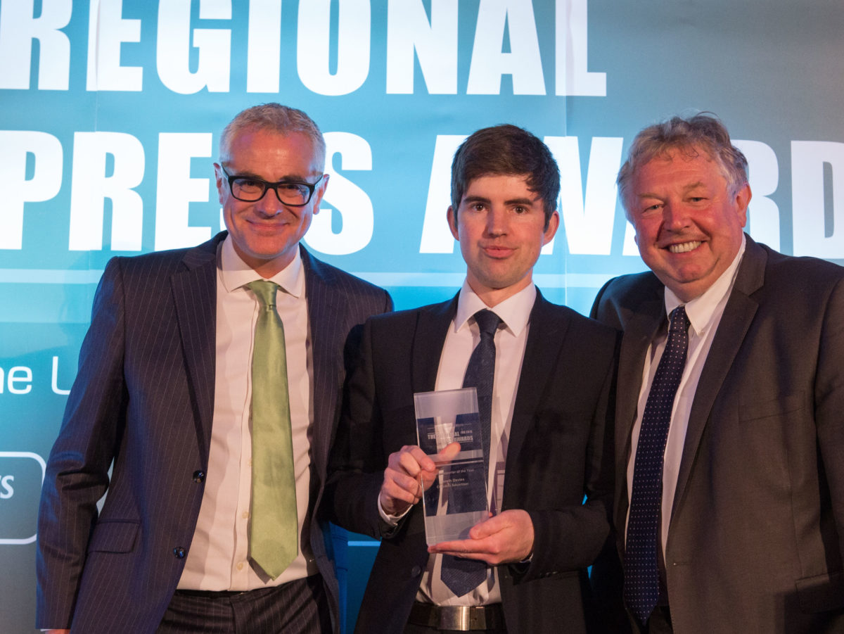 Croydon Advertiser's Gareth Davies on picking up four Regional Press Awards and winning his harassment battle with the Met Police