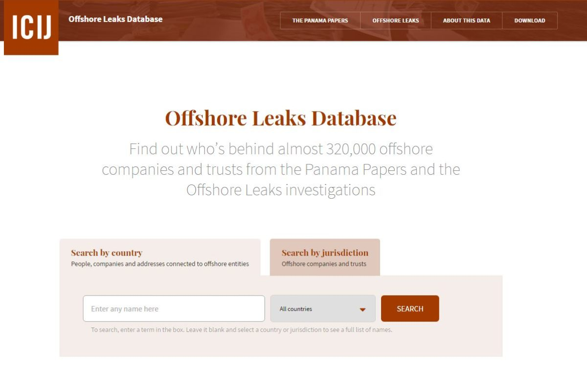 Panama Papers: Names of 200,000 offshore firms made public in online data dump by journalists
