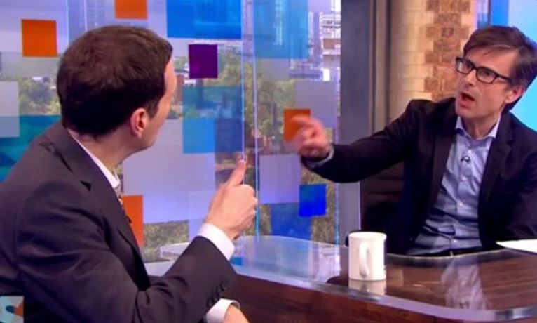 Peston v Marr: Daily Mail writer says sorry over 'tipsy conductor' jibe as critics divided over new Sunday show