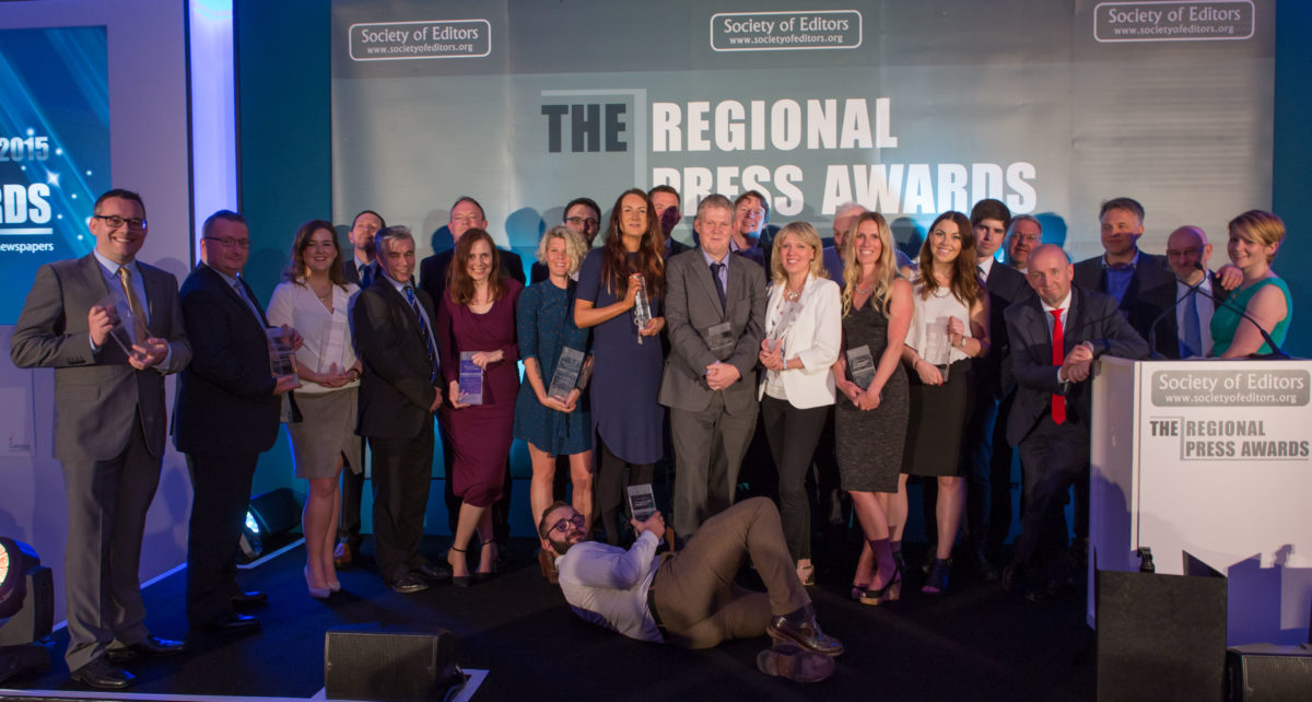 Regional Press Awards: Fourth reporting prize for Croydon's Gareth Davies, double win for Birmingham's Jeanette Oldham