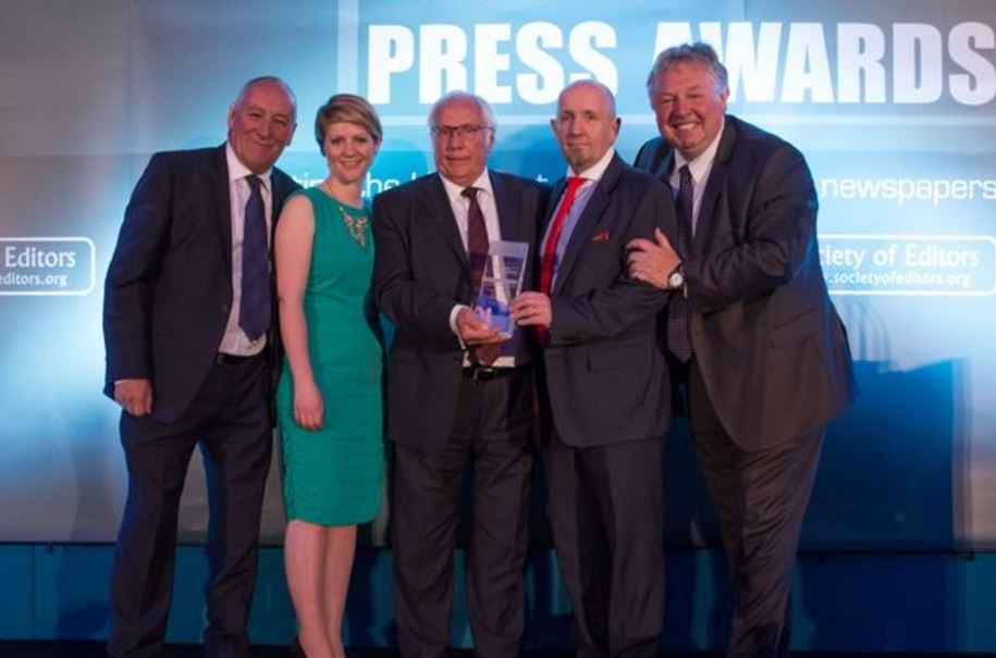 Liverpool Echo editor on Hillsborough coverage award: 'We are there to shine a light on where there is darkness'