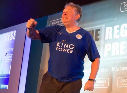 Regional Press Awards - Nick Ferrari Leicester City FC(1)