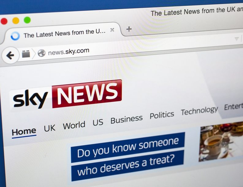 Sky News not 'critical' to business, chief executive tells analysts