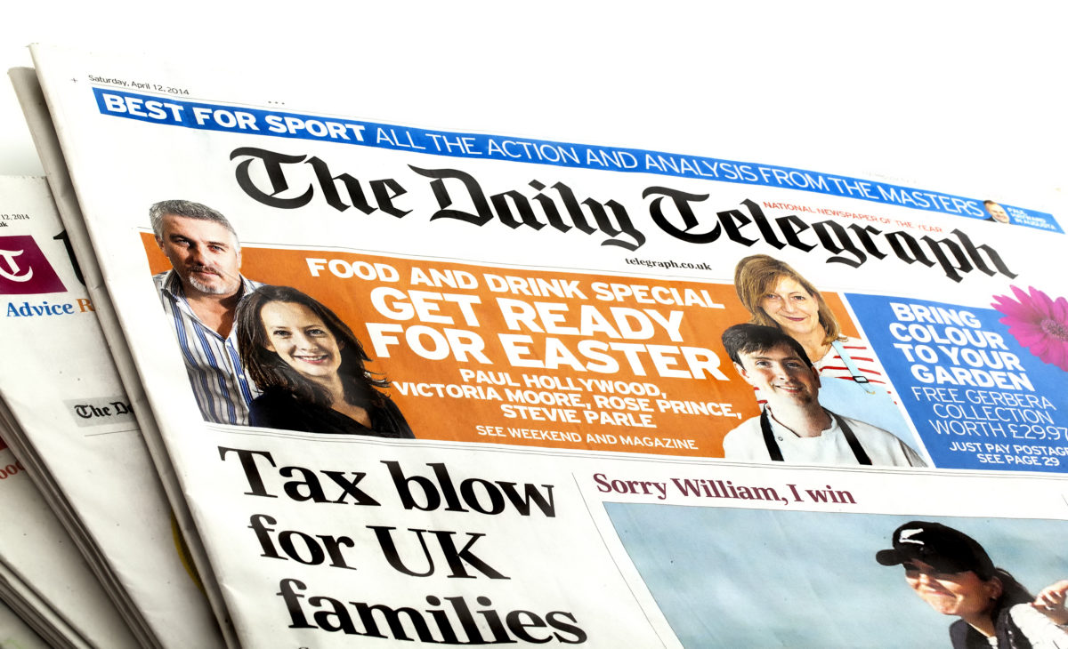 Fresh wave of editorial redundancies at Telegraph