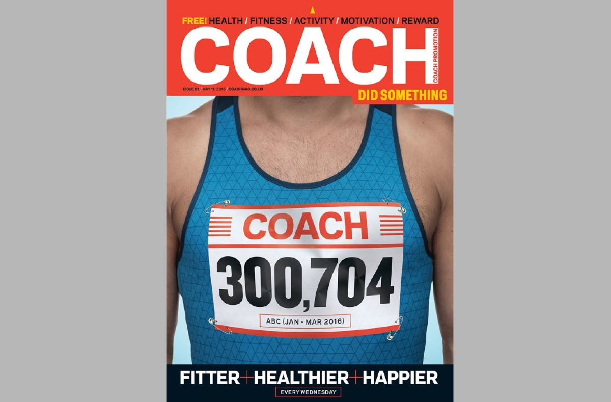 Latest entrant to growing free magazine market Coach celebrates first ABC of 300,000