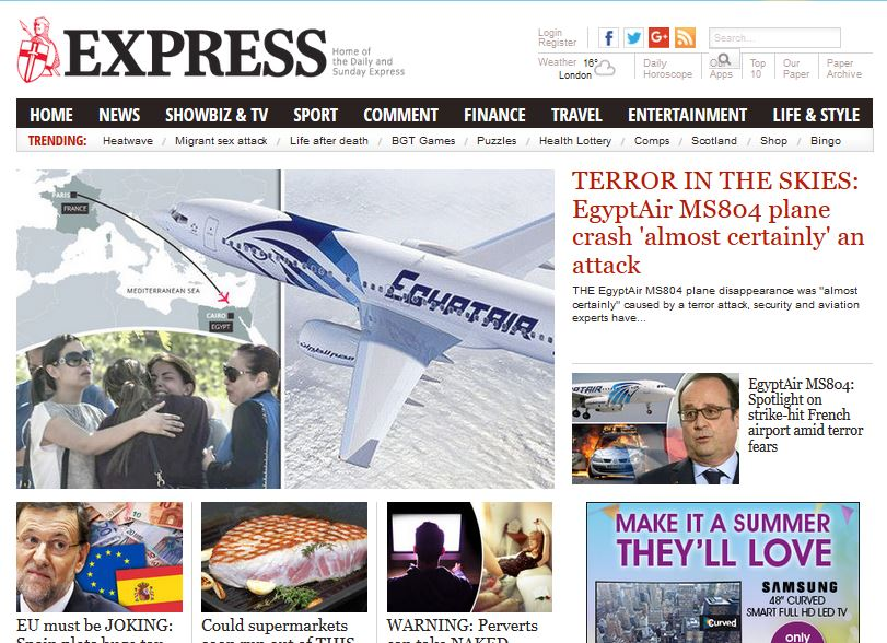 Website ABCs: Express fastest growing website as Independent unharmed by print closure
