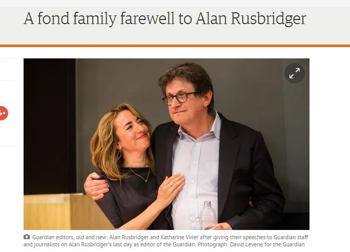 'Sad', 'disrespectful', 'un-Guardian' - but not a huge surprise: Insider reaction to the ousting of Alan Rusbridger