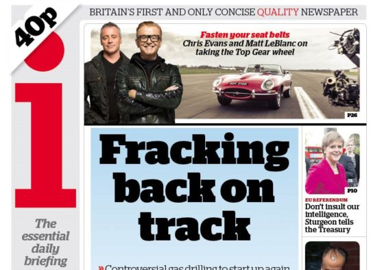 i targets paid-for sale of 300,000 and predicts print circulation growth for the 'foreseeable future'