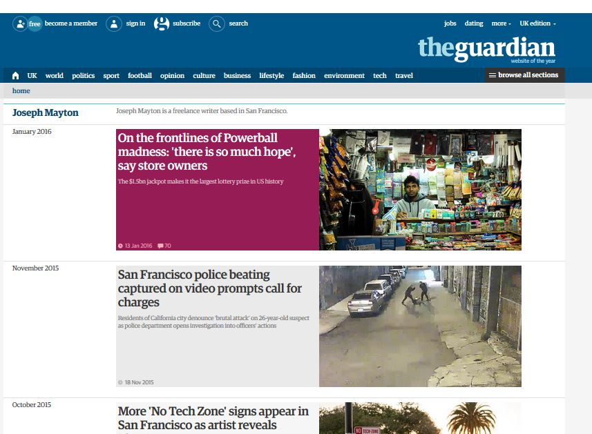 Guardian reviews freelance policy after reporter found to have misrepresented, falsified and fabricated stories