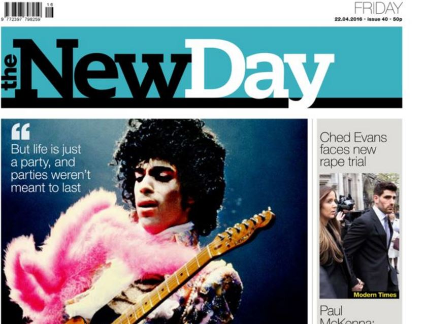 Trinity Mirror's The New Day to close on Friday after two months in print