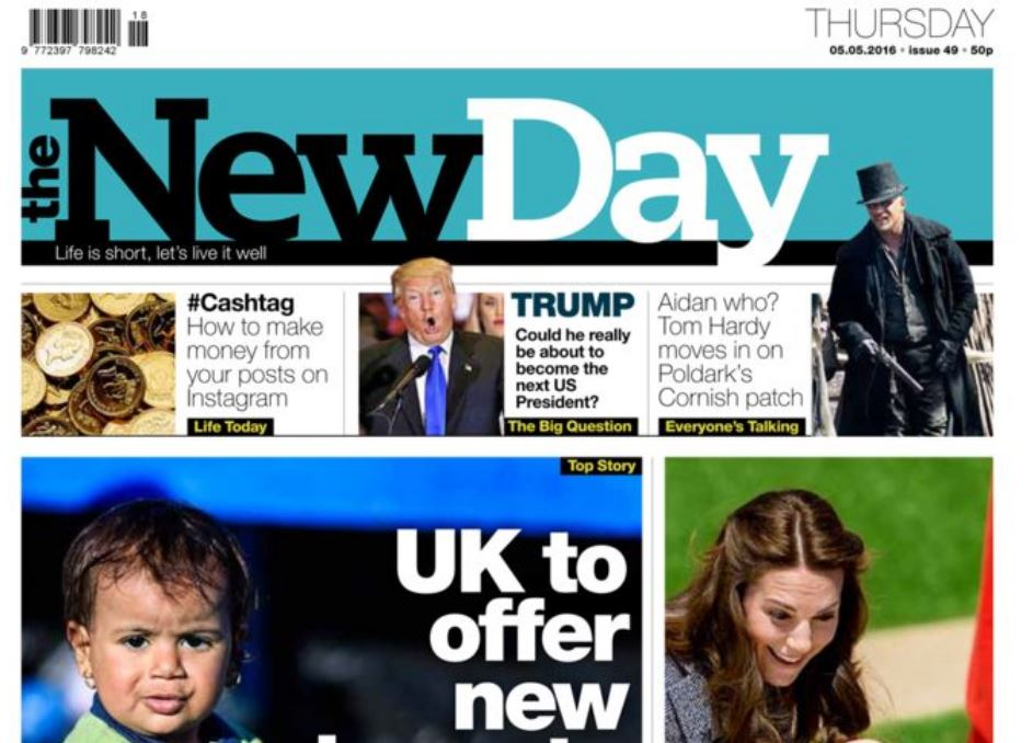 Trinity confirms closure of The New Day as it reveals overall print advertising down 19 per cent