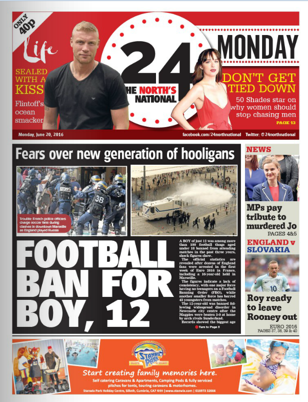 Ay-oop! Berwick-based former Mirror editor David Banks reviews new 'national' daily for the North 24