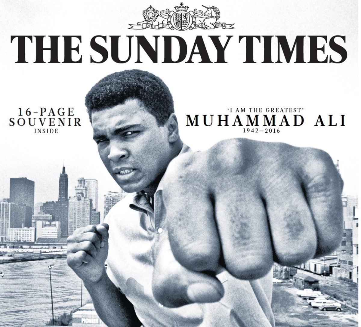 Muhammad Ali: How Fleet Street paid tribute to the champ