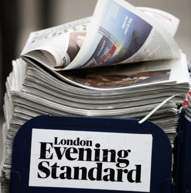 Evening Standard to mark first Night Tube with late night edition focusing on capital culture 'with a mischievous twist'