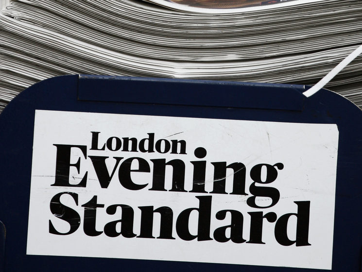 Evening Standard triples profit to £3.4m helped by print circulation increase