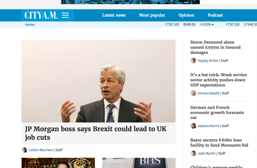 City AM giving brands the keys to its website is pretty benign compared to what other newspapers get up to