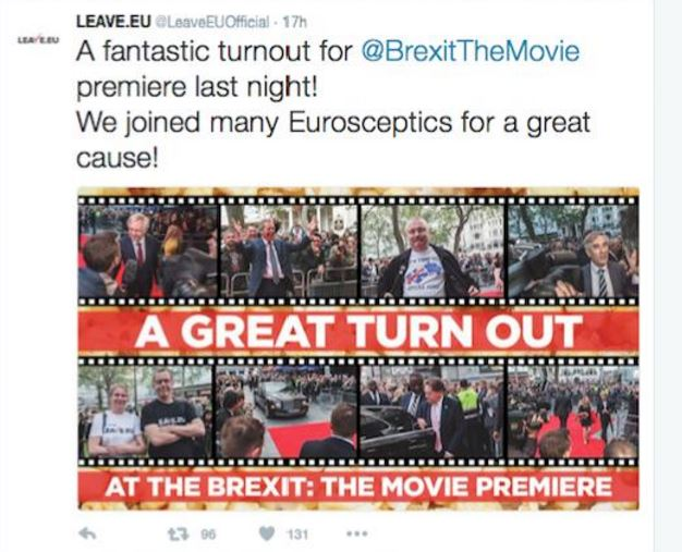 Brexit campaign group accused of flouting English law by using photographer's image without approval