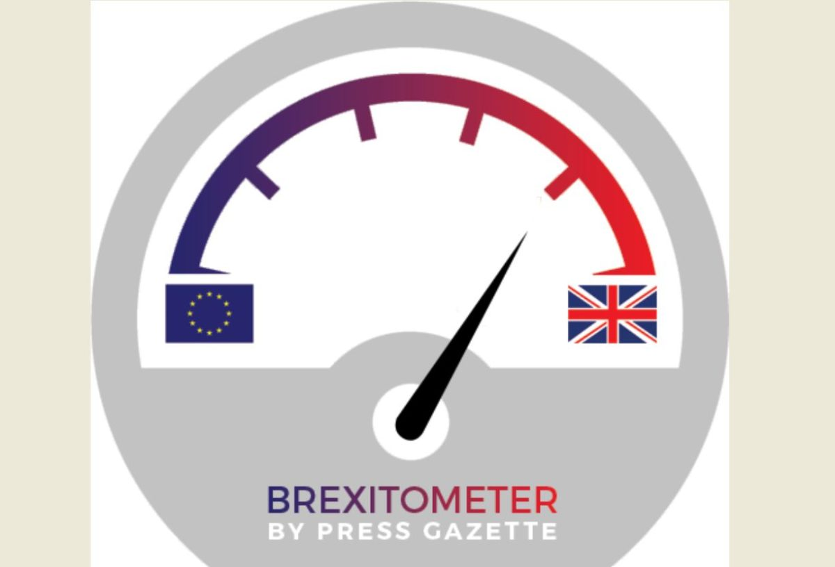 Strong UK national press bias in favour of Leave revealed by Press Gazette's Brexitometer front-page tracker